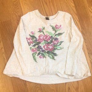 Tea Collection Girls Long-sleeve Shirt. Size 6.